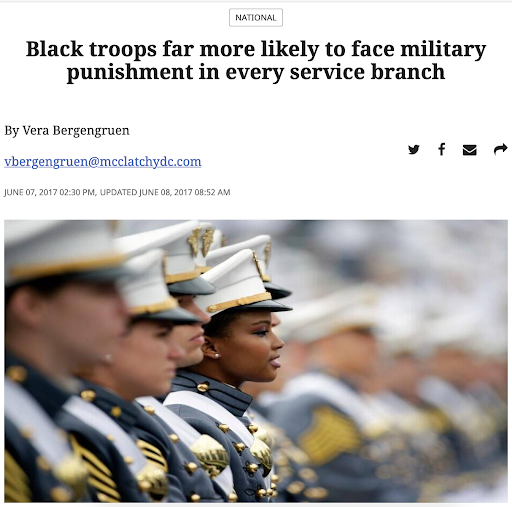 racism and military justice