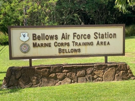 Bellows Air Force Station in Hawaii