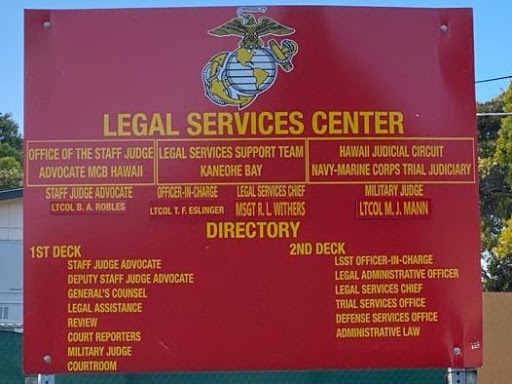 Military Legal Services Center in Hawaii for Military