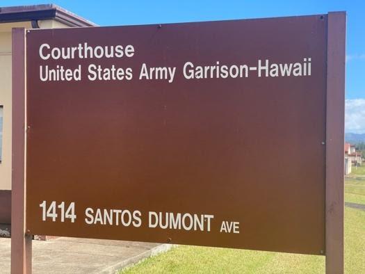Schofield Barracks in Hawaii