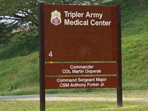 TRIPLER ARMY MEDICAL CENTER in Hawaii